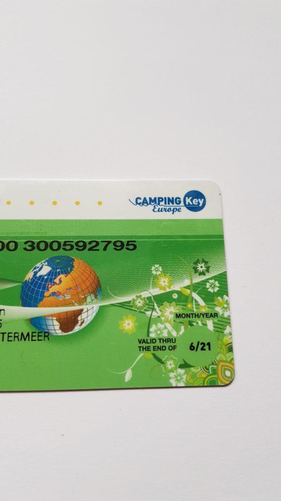 ANWB CKE kortingskaart (kamperen met korting)