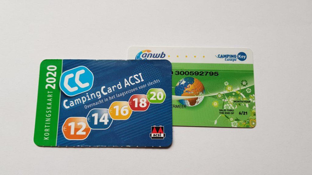 Kamperen met korting: CampingCard ACSI + ANWB CKE