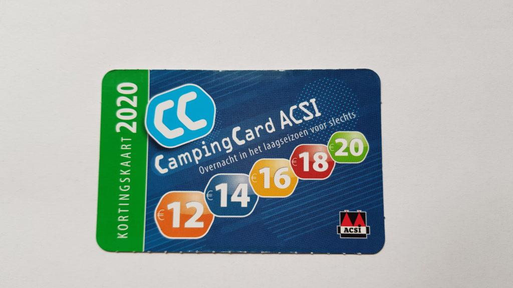 CampingCard ACSI, overnachten met korting op de camping in het laagseizoen