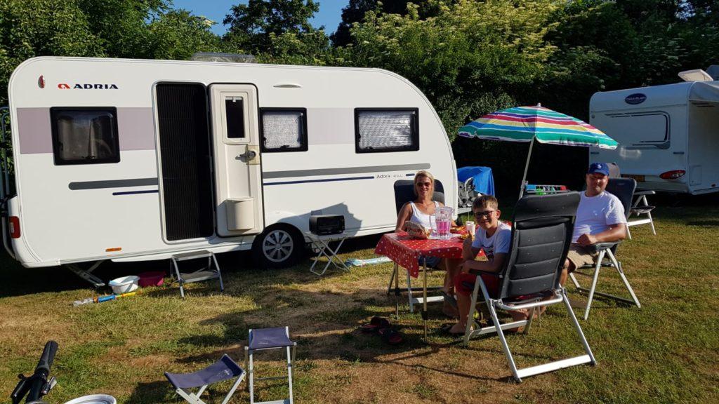 kamperen op camping De Koornmolen in Zevenhuizen, Pinksteren 2020