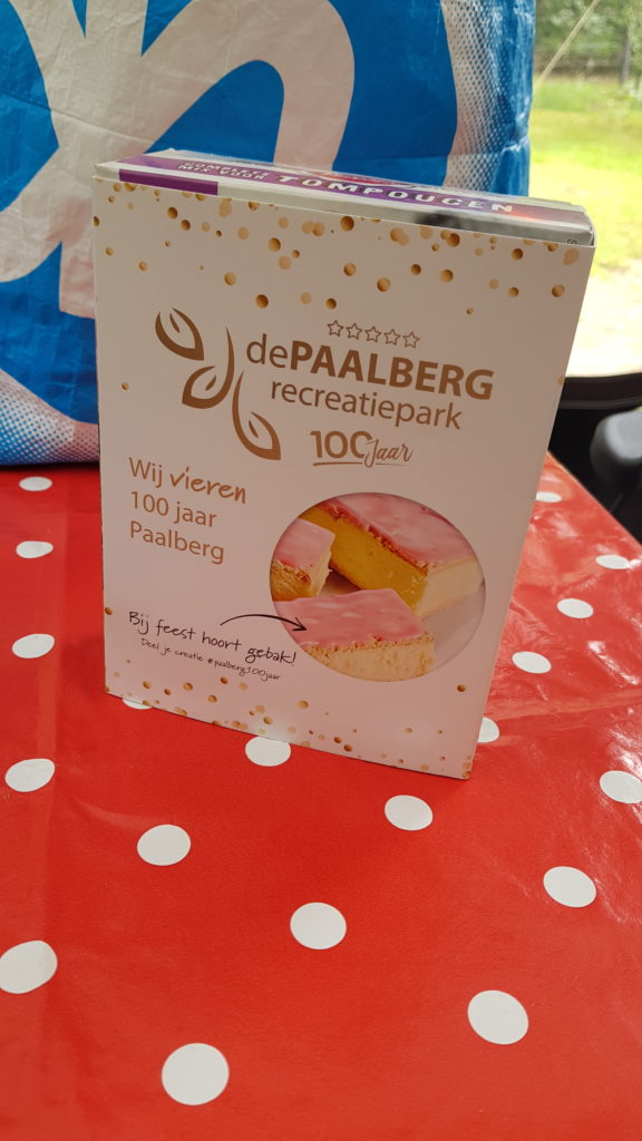 100 jaar camping De Paalberg tompoezenpakket