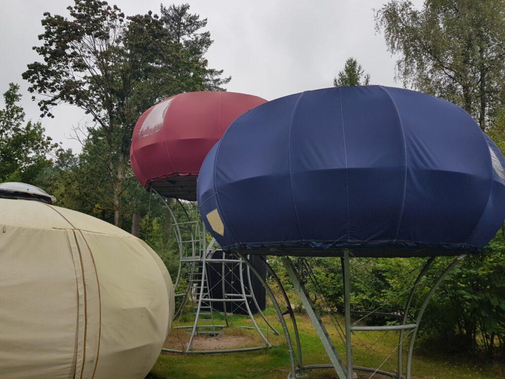 glamping op camping de Wildhoeve, Emst