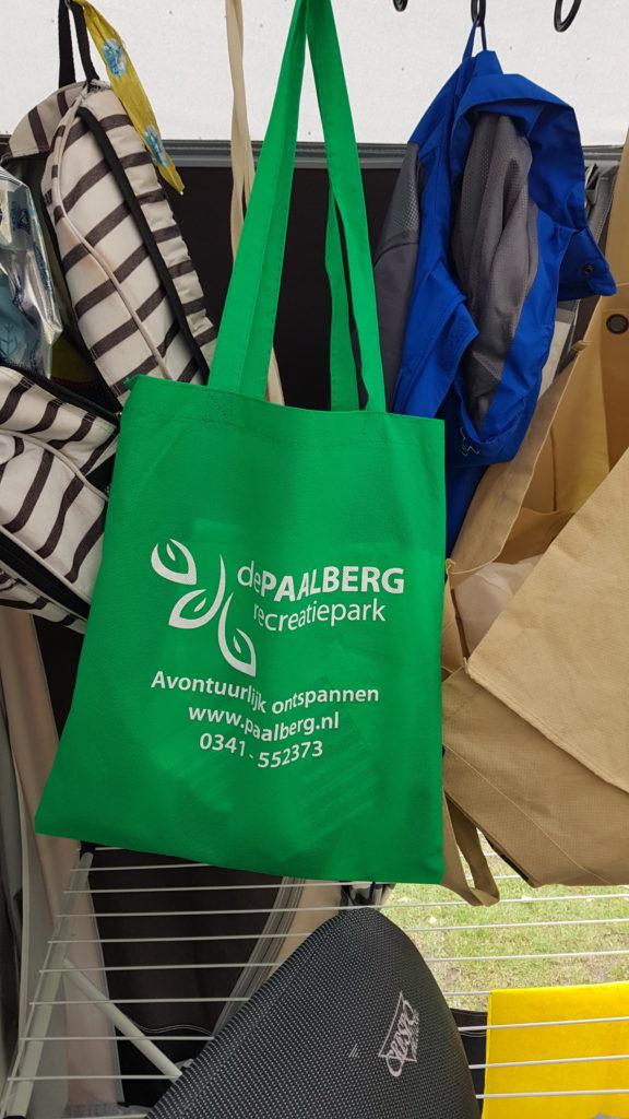 informatietas camping De Paalberg