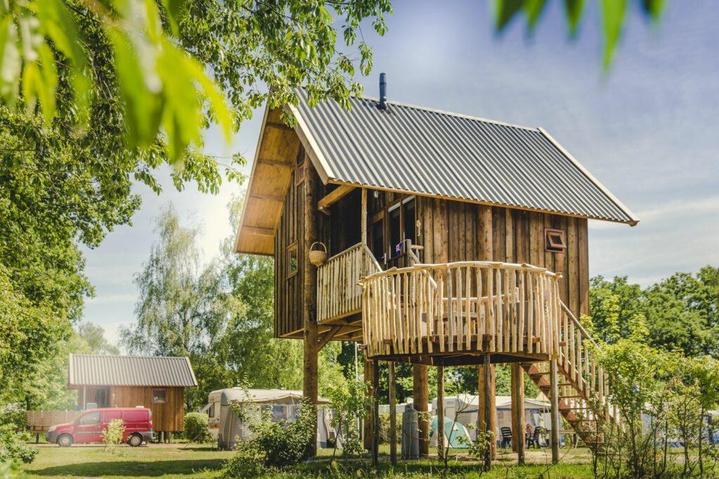 Glamping accommodatie (s) vakantiepark / camping Mölke, Overijssel