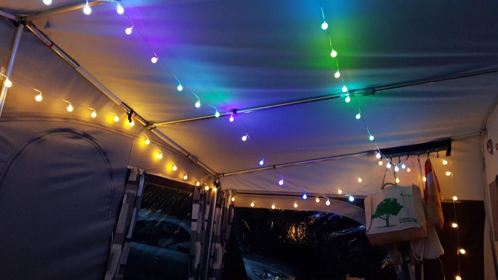 Kampeerverlichting, campingverlichting, sfeerverlichting camping