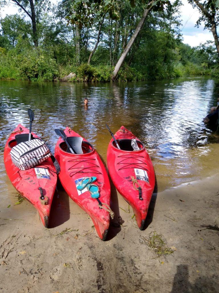 kano varen over de Dommel