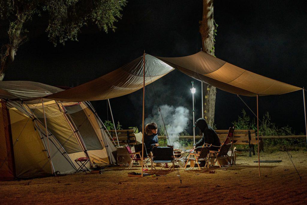 winterkamperen / kamperen in de winter